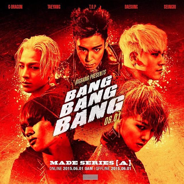 甚至是BIGBANG的《BANG BANG BANG》  全部一起來 就像中槍一樣 BANG! BANG! BANG! BANG! BANG! BANG! 砰 砰 砰 BANG! BANG! BANG! BANG! BANG! BANG! 砰 砰 砰 通通別動 通通都別動