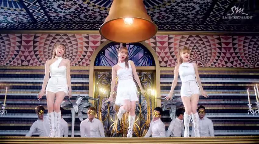 少女時代子團 (2012年) 成員:太妍、Tiffany、徐玄 代表作:Twinkle、Holler