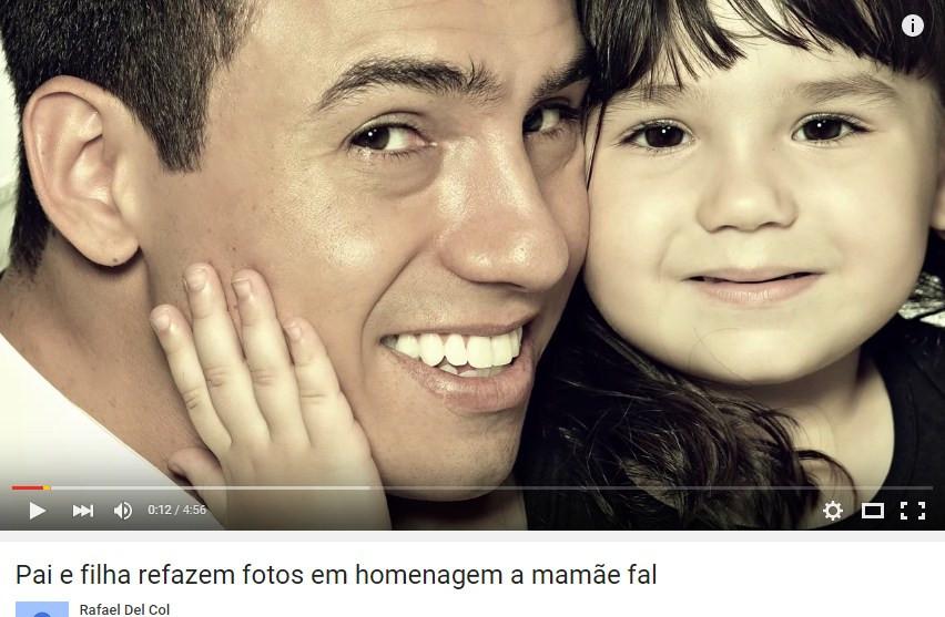 2014年12月Rafael del Col把他拍的影片上傳到YouTube上,直到現在已經有接近300萬次的點擊。影片的背景音樂是妻子最愛的歌 (請準備好紙巾!)