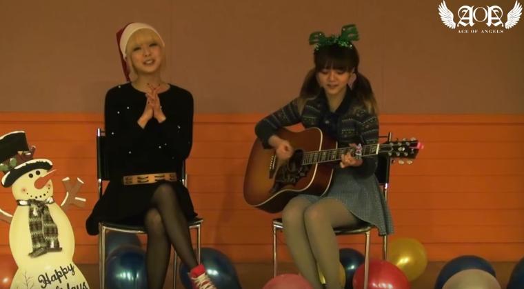 草娥和智珉合唱的 Last Christmas 也很好聽對吧?