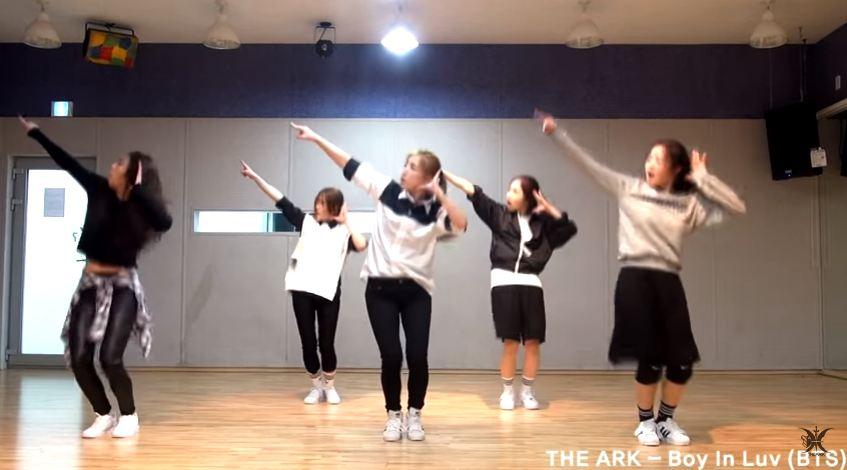 THE ARK 防彈少年團<Boy In Luv>_Cover Dance  (無法播放時,請直接按出處)