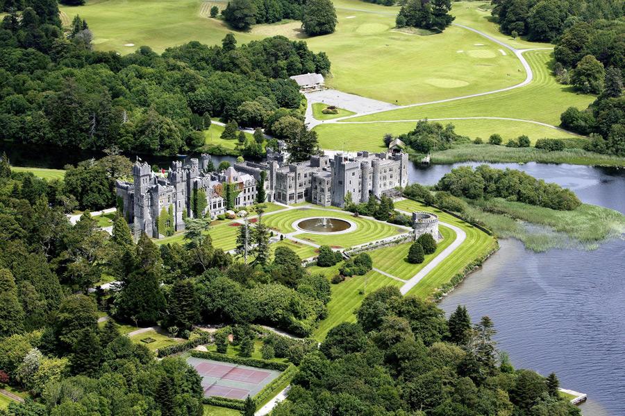 1.愛爾蘭的阿什福德城堡酒店 800年歷史的中世紀古城堡酒店
