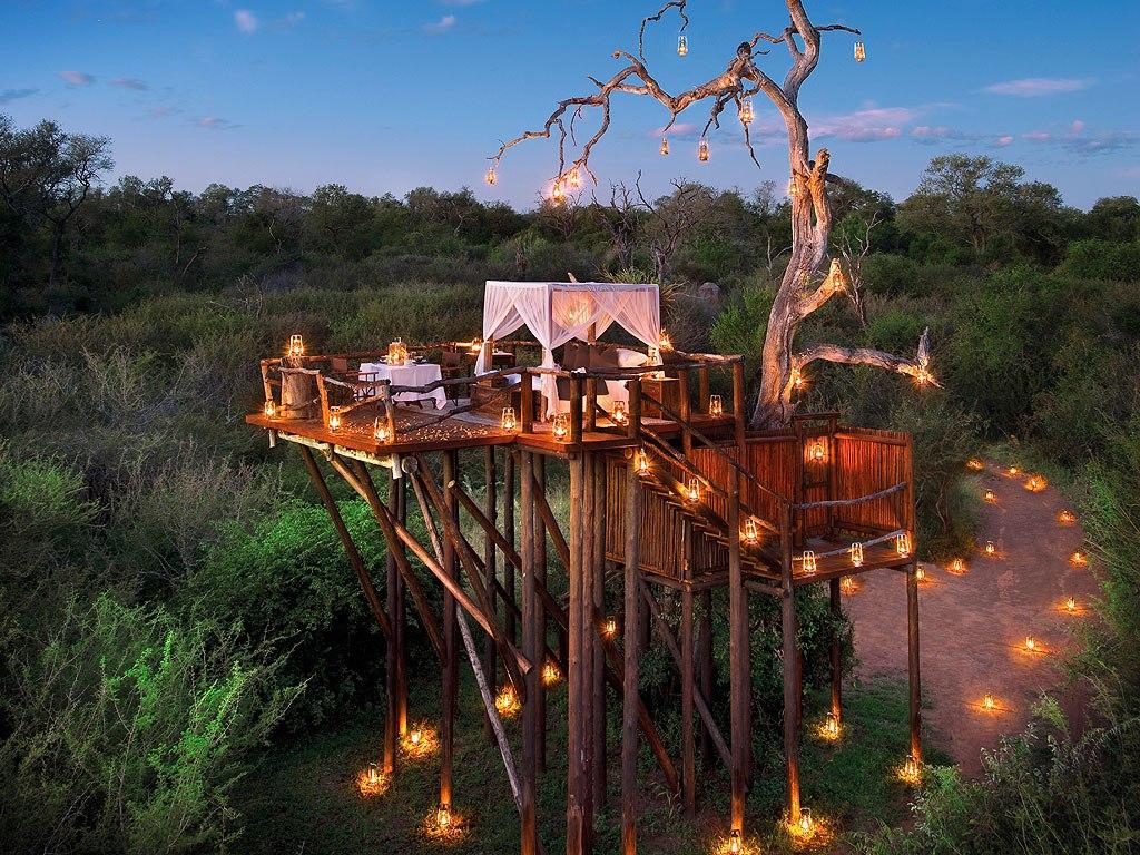 10. Lion Sands酒店(南非) 位於非洲大草原中央, 傳說酒店的鬧鐘就是獅子的吼叫。
