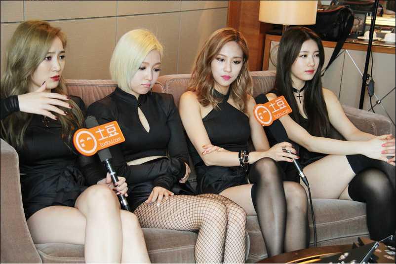 韓國女團這麼多~ 要怎麼出鋒頭~得要有點智慧