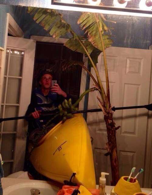 浴室裡划船 浴室不夠大就不要硬划嘛