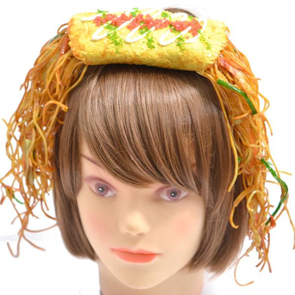 這... 是一種假髮與頭飾兩用~ 互相輝映的概念