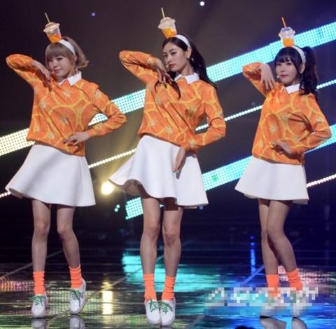記不記得韓女團《橙子焦糖》去年4月回歸