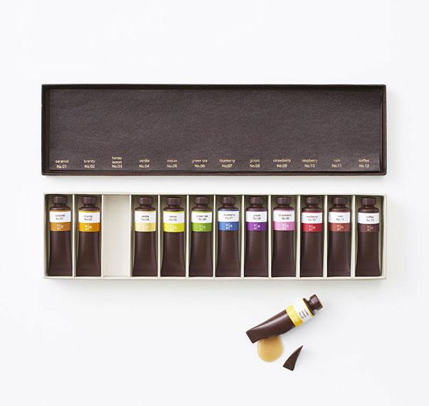 4.顏料巧克力