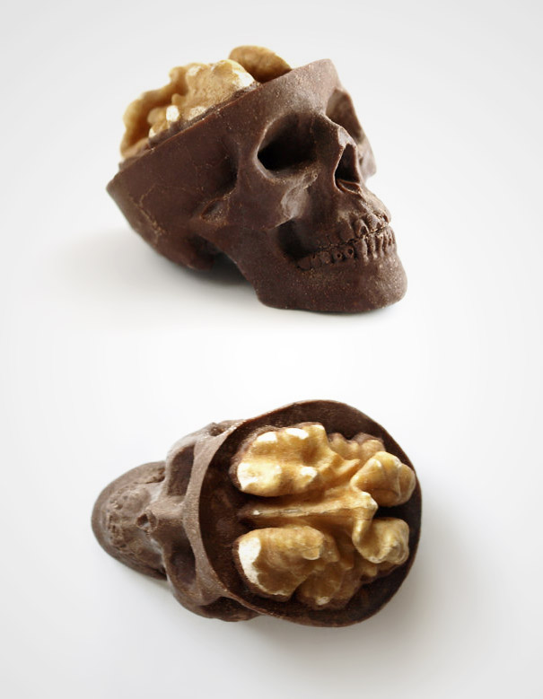 5.骷顱頭巧克力