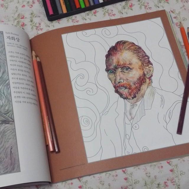 讓畫畫的人也成為大畫家~重新為名作上色
