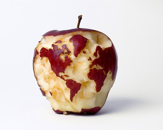 一個蘋果~一個世界