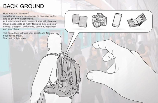 出門旅行常常都把重要物品隨身攜帶 小心再小心 卻還是有可能成為扒手攻擊的對象
