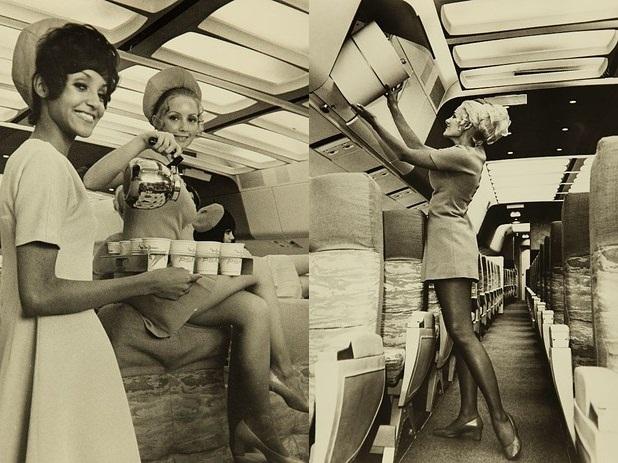當時的空姐只能就職到32歲 就會被強制辭退了 (什麼!也太嚴格了吧! 像韓國現在平均空姐退休年齡有到55歲)