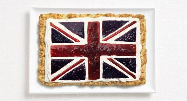 3. 英國 - 英國鬆餅, 奶油, 果醬