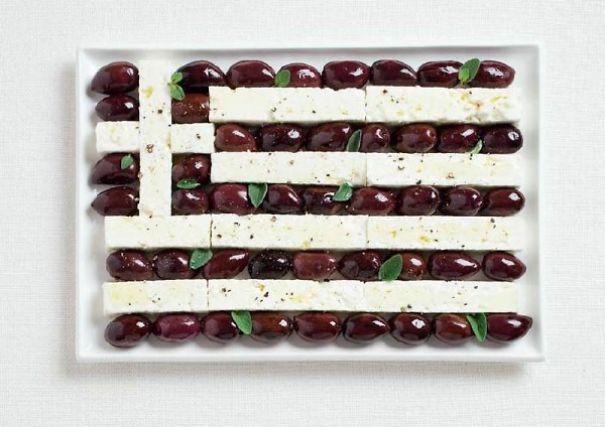 7. 希臘 - 卡拉瑪塔橄欖、羊奶酪