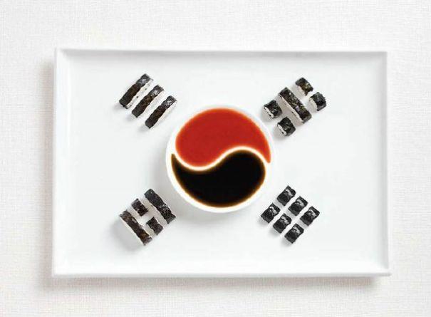11. 大韓民國(南韓) - 紫菜包飯、辣椒醬、醬油