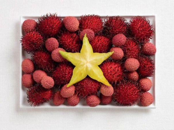 15. 越南 - 紅毛丹、荔枝、楊桃