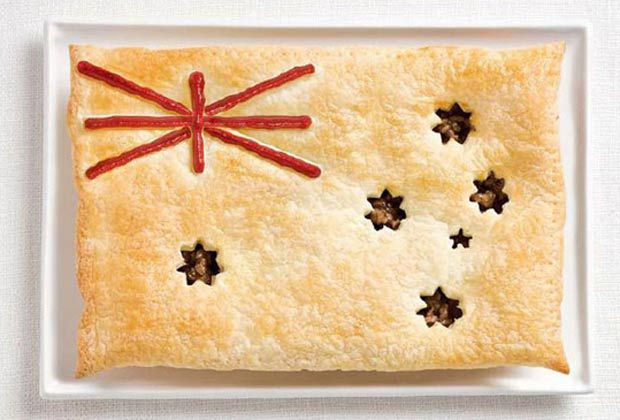 16. 澳洲 - 肉餅、番茄醬