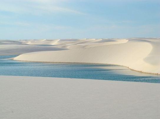 但其實沙子的成份簡單說就是石膏啦 (只是這個石膏粉綿延了300平方英里)
