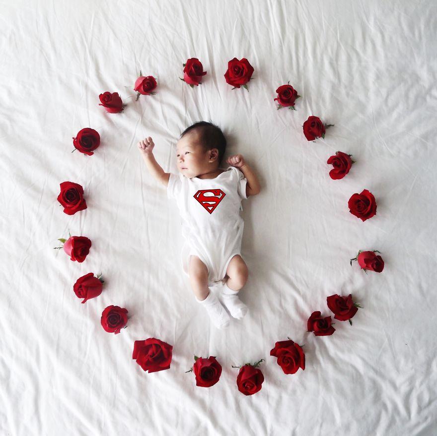 #. 以後我要成為媽媽的超人