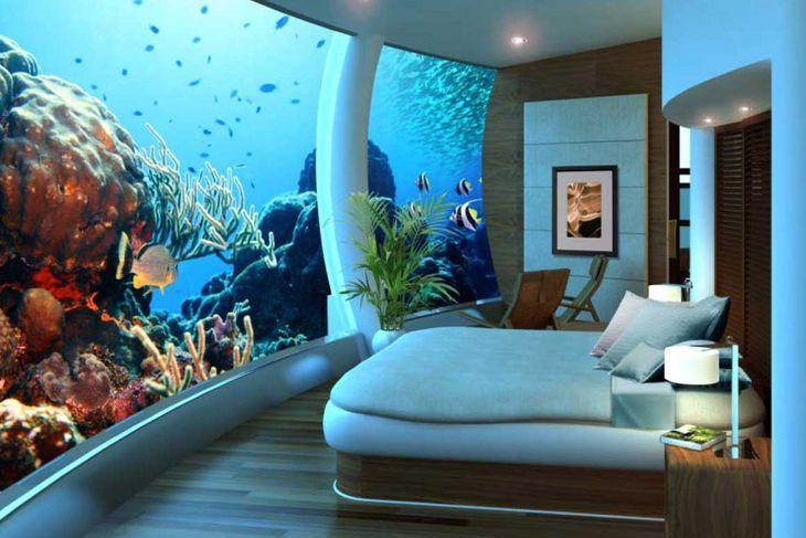 #17 벽면을 가득 채우고 있는 바다.