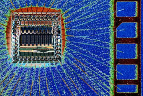 #半導體晶片 (好像電動裡面的一個關卡)