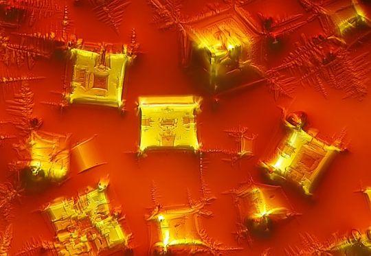 #乾掉的醬油 (方方的塊狀物到底是什麼)