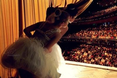 在歐洲、俄羅斯等地~ 芭蕾舞是可以舉辦相當正式的公演 進行售票演出~
