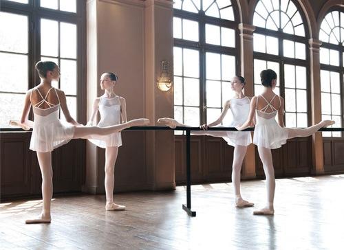 很多舞者都是從小練到大~