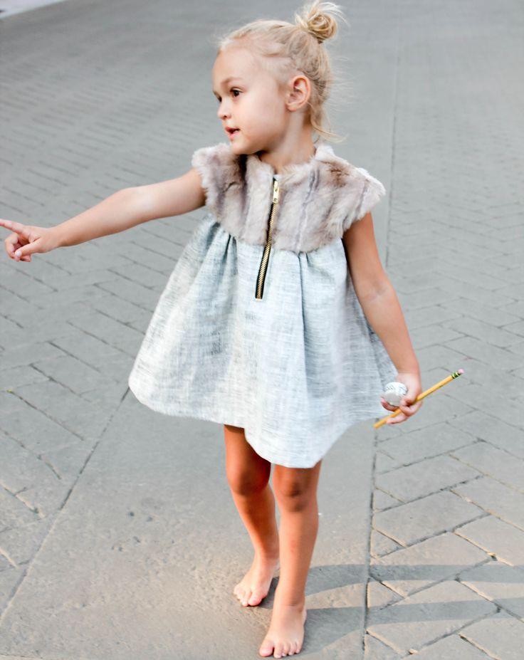 像個小公主