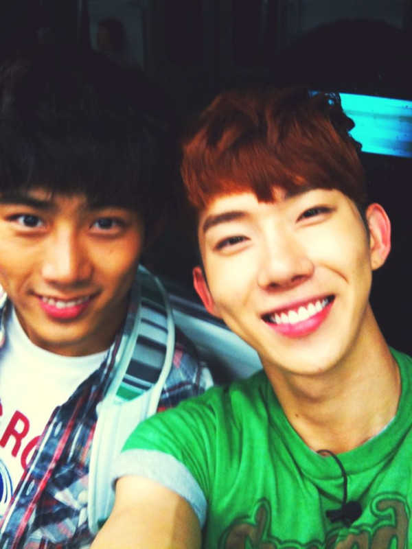 2PM澤演 & 2AM趙權 是一種One Day合體的概念