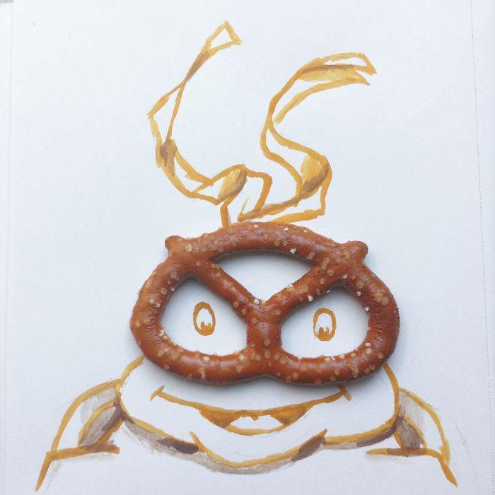 #忍者龜裡最調皮的米開朗基羅