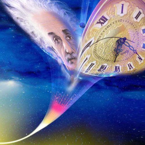 由此證明了飛往宇宙的女孩時間速度減少了! 這時女孩B的手錶,會比等紅燈女孩的手錶移動得更慢!