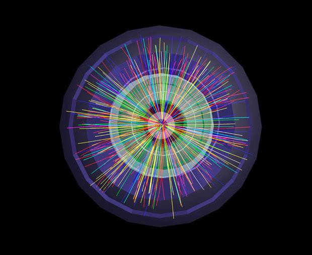 而且因為以光速的99.999999%進行加速, 因此研究的粒子比靜止的粒子增加了近30倍的壽命!!!!!!!