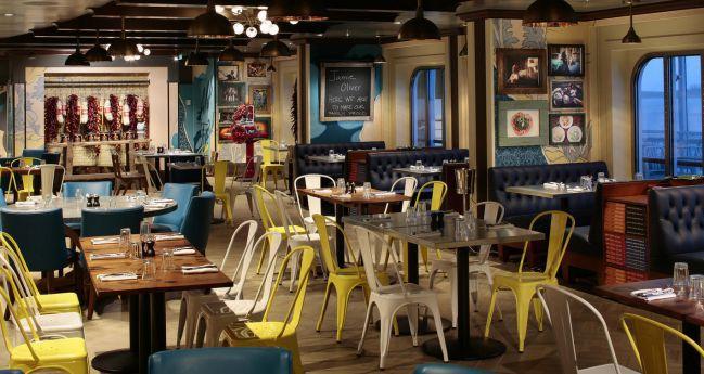 義大利風的餐廳!