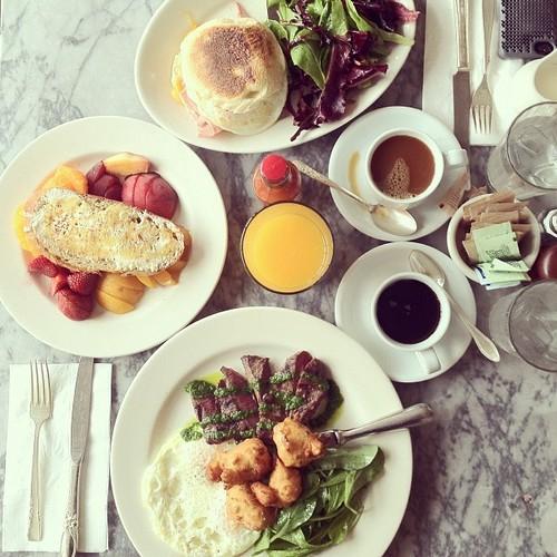 1. 美食享用照 不管什麼食物都沒關係! 絕對會精心調整角度然後拍照! 結束後才能開動! (#吃貨 #Food #減肥明天再開始 ,IG上的話就還會有 #foodstagram #instafood)