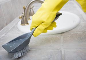 1. 清除瓷磚上的水垢