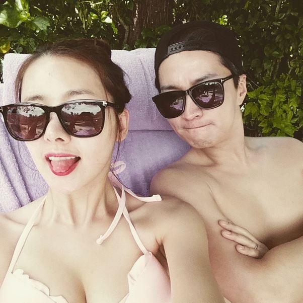 韓國演員蘇怡賢與印喬鎮夫婦 夫婦身材都好優~無比羨慕~~