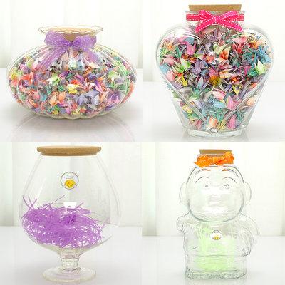 19. 折紙 小時候送禮物最喜歡到文具行買漂亮的罐子和漂亮的色紙 折星星或紙鶴送朋友!