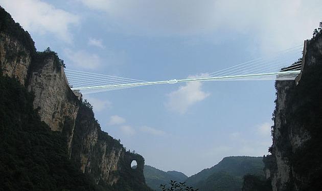就像圖中這樣,要建出一條橋.......一條透明的橋!!!!@@;;