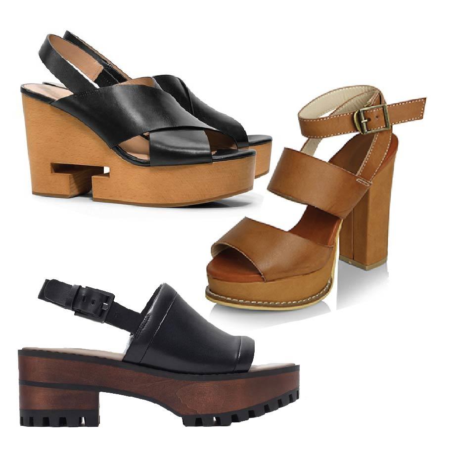 今夏最流行的Clog鞋款的顏色是黑、米白,或是其他的大地色系! 如果不想看起來太過於無趣的話, 也可以選擇色彩鮮豔的花紋設計唷~