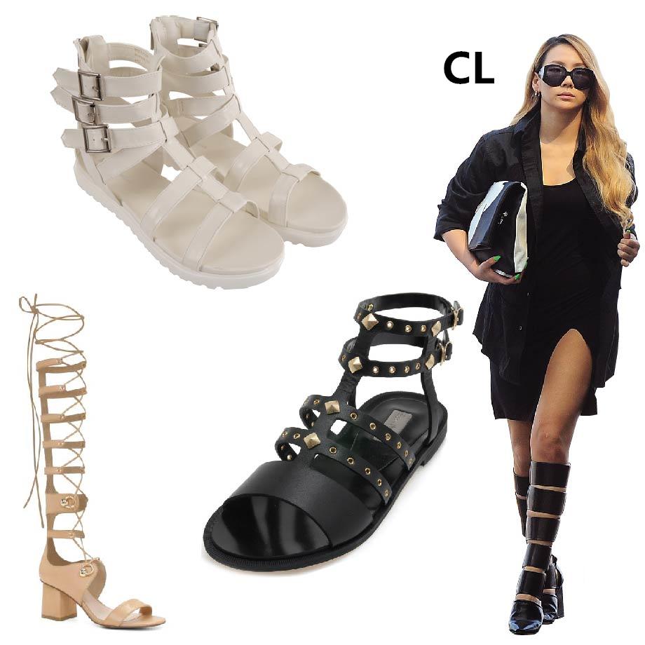 害怕羅馬鞋會帶給人太man的感覺嗎? 喜歡羅馬鞋設計的朋友們~今年夏天就選擇亮眼一點的顏色吧! 白色、米色都是很好搭配的唷~