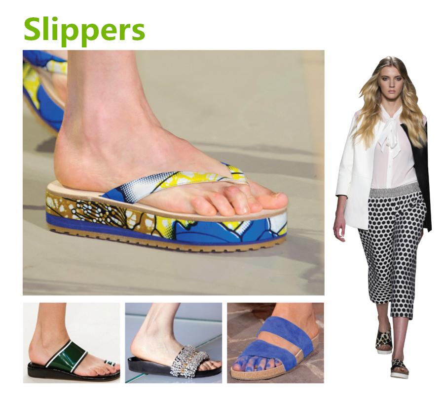 ✓ 拖鞋款(Slippers)  最後要介紹的便是,充滿設計的拖鞋款啦! 特別是跟今年流行的寬褲搭配的話,更是帥氣唷!