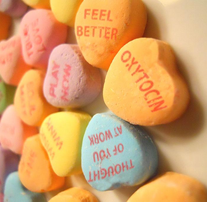 最後,要來講一下有「愛的荷爾蒙」之稱的~催生素!
