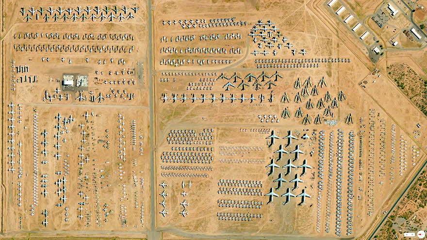 這個Daily Overview的企劃 收集了從各種從高空俯看地球各地的照片