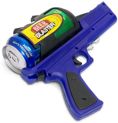 再配上一個這個小道具,拿起你的啤酒子彈,發射!!!!