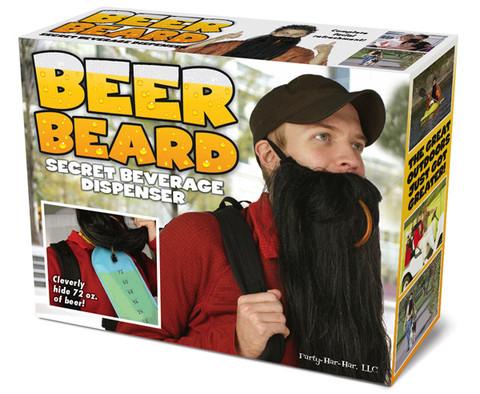 5. 長鬍子啤酒袋—不管你在哪都可以享用啤酒第二彈!