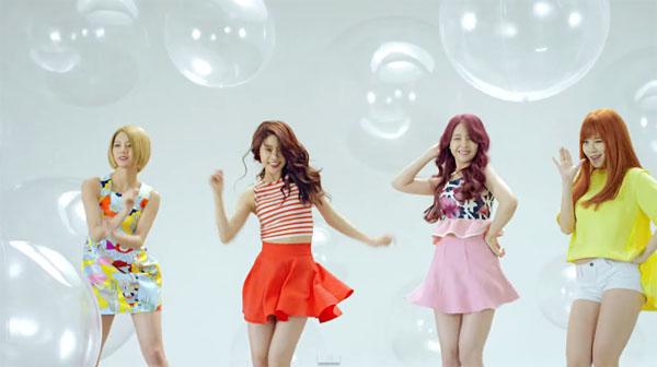 5月才剛以《Hello Bubble》單曲結束宣傳的Girl's Day 則緊接其後在7/6重回樂壇~