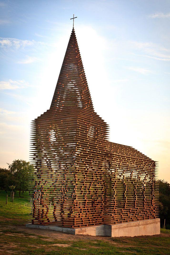 荷蘭兩位建築師建造了名為Gijs Van Vaerenbergh 具有哲學構想的建築物