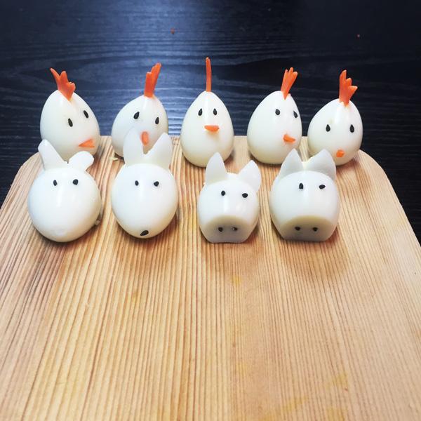 做完小編就餓了~ 如果想要學鵪鶉蛋的做法~ 請期待下一集喔!